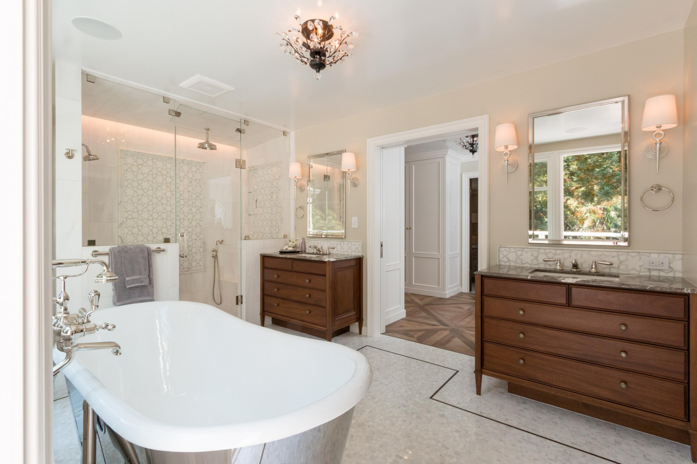 Award Winning Luxurious Master Suite Remodel Mccutcheon